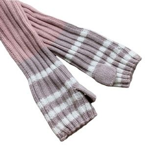Free People Mauve Combo Arm Warmers